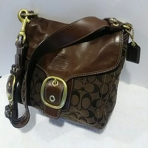 COACH BRAIDED BLEEKER BAG SIGNATURE 2007